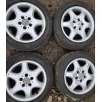 Литые диски R16 5x112 Mersedes Оригинал + 205/55/16 Pirelli