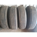 295/80/22,5 Michelin XZA 2  10 mm 4 шт 13год Стоимость -145у.е/шт