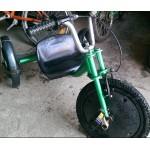 Уникальный 3х колесный велосипед
